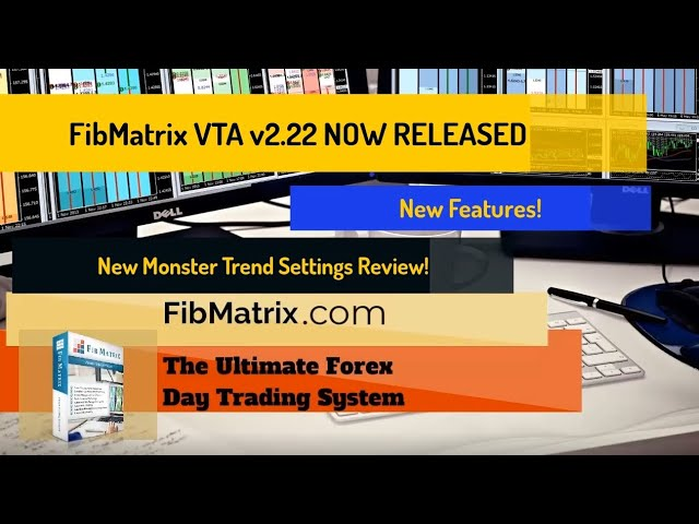 FibMatrix VTA v2.22 Forex Trading Software Released- Positive Risk Reward Ratio – New Monster Setup