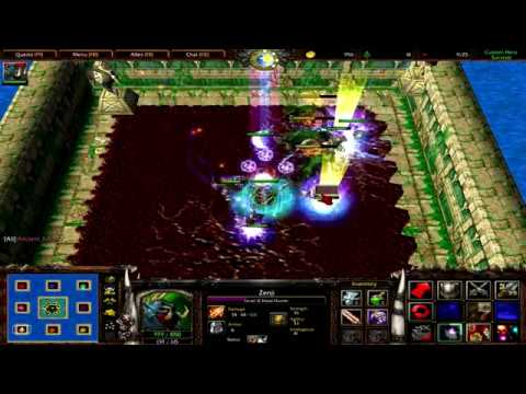 Warcraft 3 | Custom Hero Survival v2.6c | Awesome Game | Crazy Bets