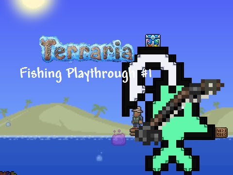 Full download terraria how to make a reinforced fishing for Fishing poles terraria
