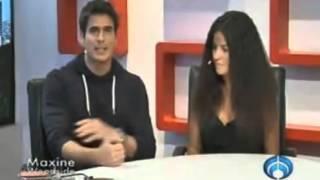 Maite Perroni y Daniel Arenas en TPLM - La Gata