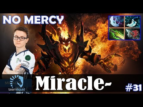 Miracle - Shadow Fiend MID   NO MERCY   7.07 Update Patch Dota 2 Pro MMR  Gameplay #31