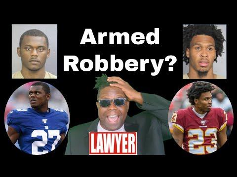 NFL Stars Deandre Baker & Quinton Dunbar Armed Robbery | Hood Law | Lawyer Explains