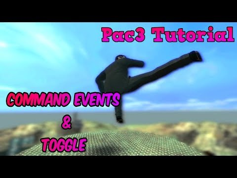 Pac3 Tutorial Command Events/Toggle - YouTube