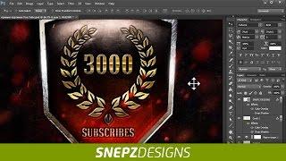 Tutorial Как сделать логотип (медаль ) в Photoshop в стиле World of Tanks