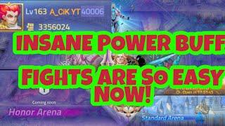 HUGE TEAM IMPROVEMENT OVER 1.2 MILLION POWER!