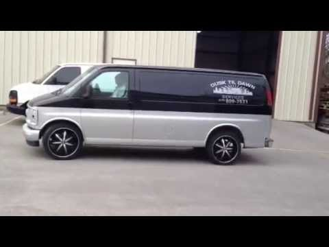 Chevy Express Van >> 22 inch Massiv 916 wheels on 2000 Chevy Exprees Van ...