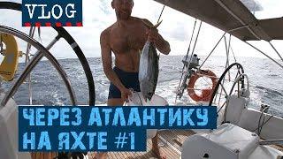 ОДНА ЯХТА, ДВА КАПИТАНА, 39 ДНЕЙ НА БОРТУ   #Transatlantic Vlog - 1