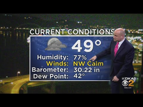 KDKA-TV Weekend Forecast (4/21)