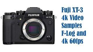 Fujifilm xt3 luts video clip