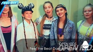 Open Kids - Feel the Beat Dance Festival