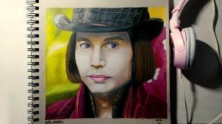 Drawing Willy Wonka