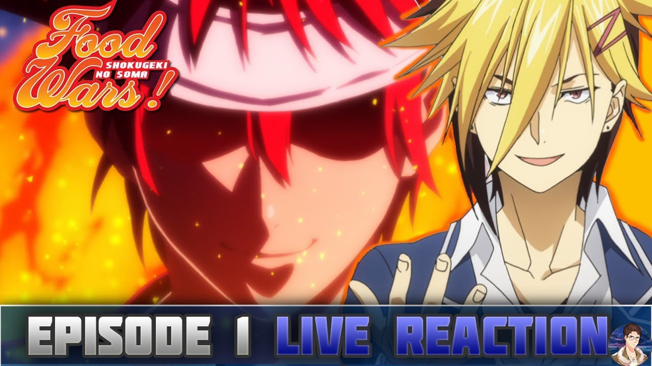 Food Wars: Shokugeki No Soma Season 3 Episode 1 LIVE ...