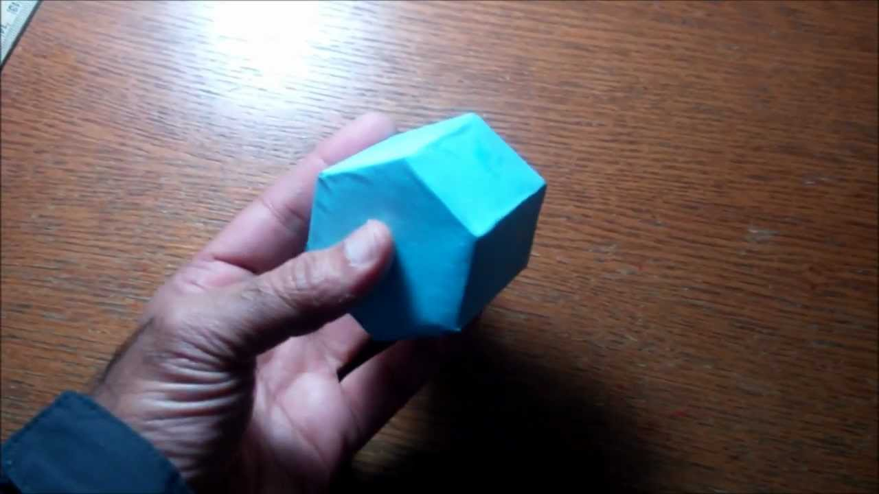 How To Make Hexagon Prism Youtube