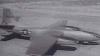B-45 Tornado takeoff