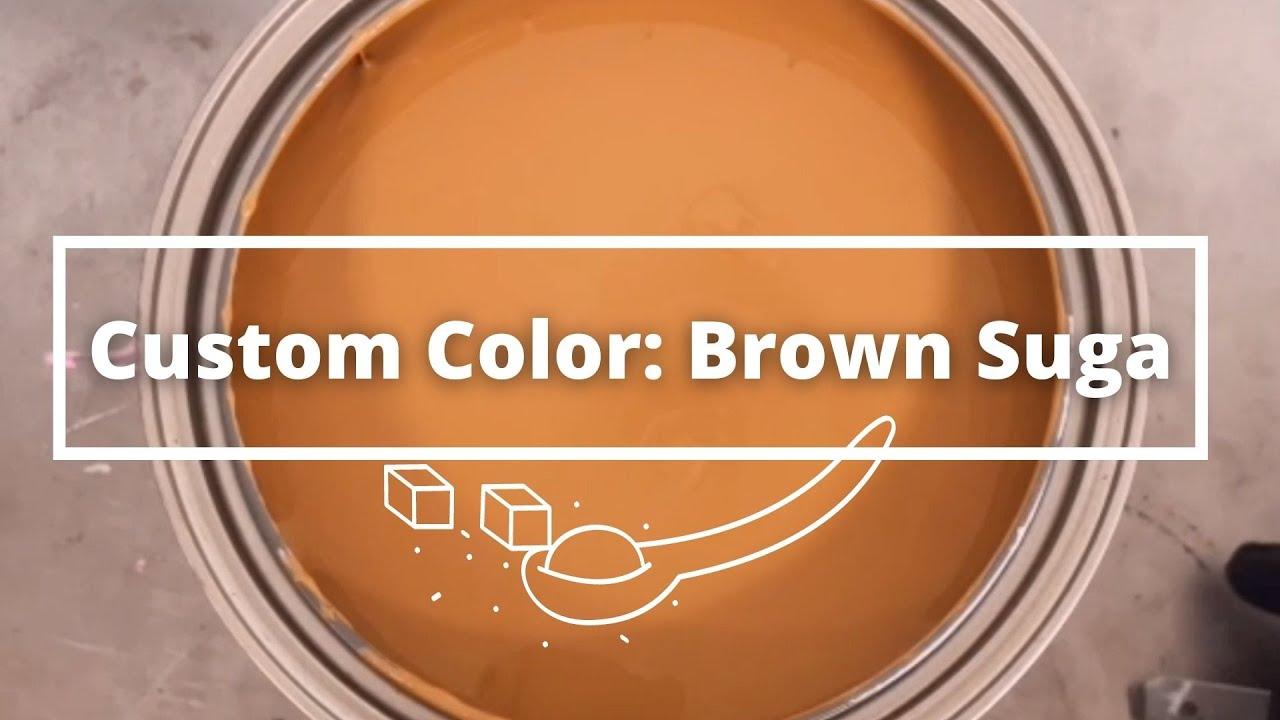 Custom Paint Color: Brown Suga #shorts