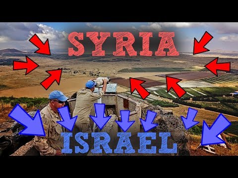 SYRIA + ISRAEL BORDER = DANGEROUS PLACE! | JESUS'S HOMETOWN  [PART 4]