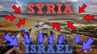 SYRIA + ISRAEL BORDER = DANGEROUS PLACE! | JESUS'S HOMETOWN  [PART 4]