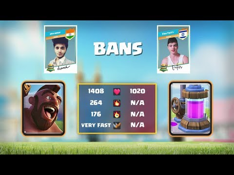 Indian Player in Crown Champion Rest of World Fall Finals | Clash Royale