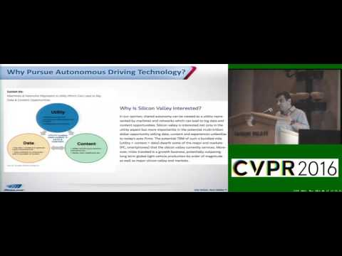 Amnon Shashua CVPR 2016 keynote: Autonomous Driving, Computer Vision and Machine Learning