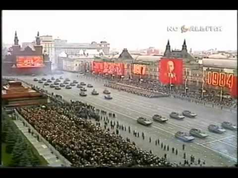"""""""Soviet march"""" in the 1984 Army Parade. (from """"C&C: Red Alert 3"""")"""