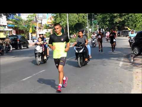 Raider Khusus 111 Juara Lomba Lari 10 K HUT Ke 16 Kota Langsa 2017