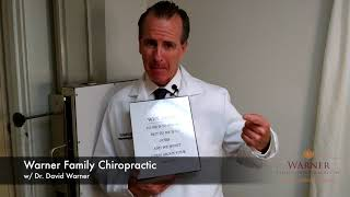 Why Do Chiropractors Take X-Rays | Dr. David Warner | Dixon Illinois Chiropractor