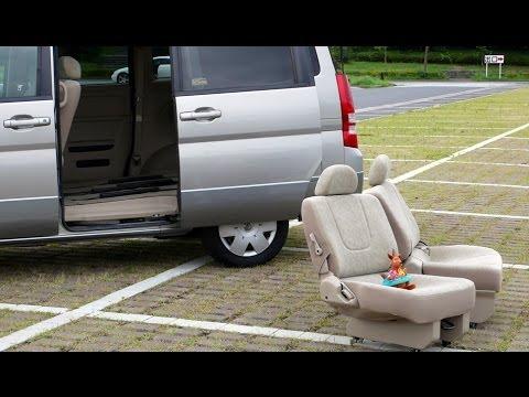 ニッサン・セレナ:外せるセカンドシートとサードシート! Nissan Serena Tc24 2005y Youtube