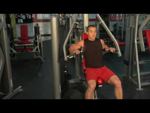 How to Use a Chest Press Machine