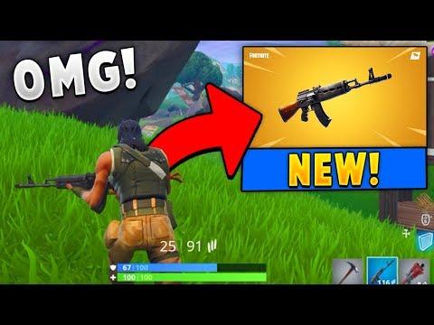 *NEW* Legendary Heavy AR Gameplay in Fortnite!