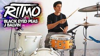 RITMO - Black Eyed Peas, J Balvin | Drum Cover *Batería* (Weird Drum Set Challenge)