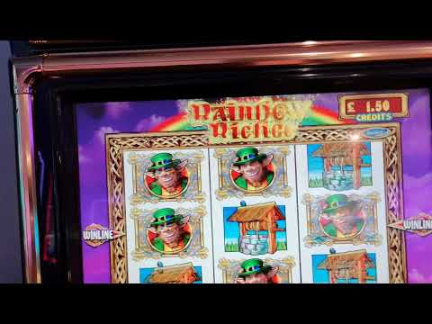 £35 JACKPOT RAINBOW RICHES - HUNT FOR A GOLD POT (Fruit Machines)