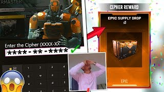 Quartermaster Cipher UNLOCKED!! CIPHER CODES & REWARDS FOUND in Infinite Warfare!? *MUST WATCH*