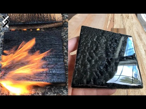Epoxy Shou Sugi Ban Finish – DIY Projects – Amazing Woodworking