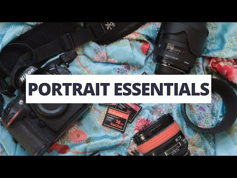 What's In My Camera Bag? Portrait Essentials