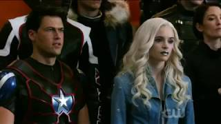 DCs Legends of Tomorrow 3x08 EVERYONE getting ready for battle