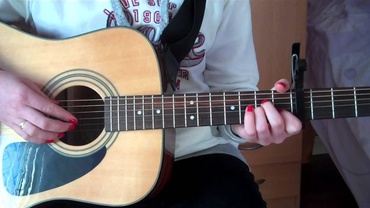 Set Fire To The Rain Adele Easy Guitar Tutorial Youtube