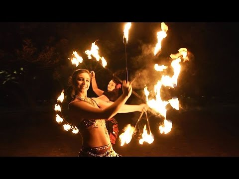 Lexi Frost Sydney Fire Dancer - Flamewater Circus
