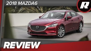 2018 Mazda6: Great for the open backroads and the crowded city streets