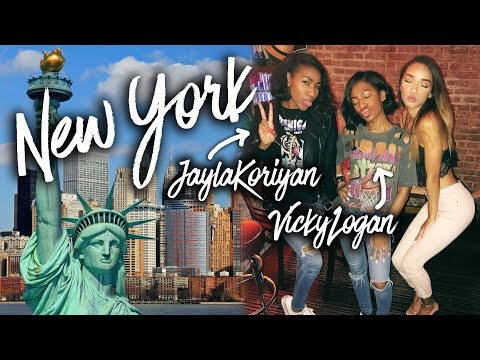 VLOG | New York Trip (ft. Jayla & Vicky!)