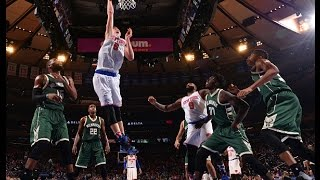 Top 5 Plays of the Week: Early's Buzzer-Beater, Galloway's Save, Porzingis' Pair of Putbacks