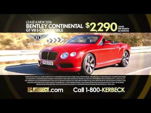 FC Kerbeck's Rolls Royce Bentley Lease Specials!