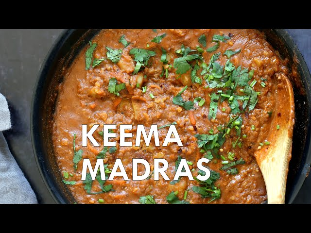 VEGAN KEEMA MADRAS With Red Lentils | Vegan Richa Recipes