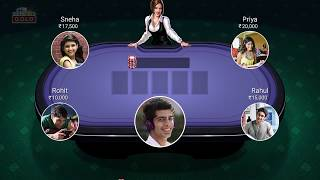 How to Play Poker on Teen Patti Gold in Hindi / पोकर कैसे खेलते हैं? / Poker kaise khelte hain? screenshot 5