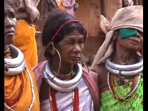 Orissa, Gadaba tribe, village dance