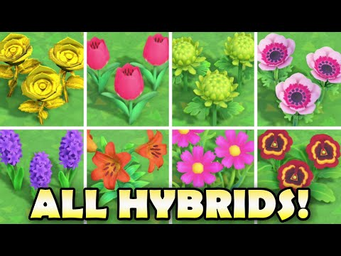 All Hybrid Flowers In Animal Crossing New Horizons How To