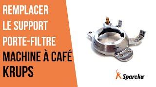 Comment remplacer le support du porte filtre de votre machine à café Krups ?