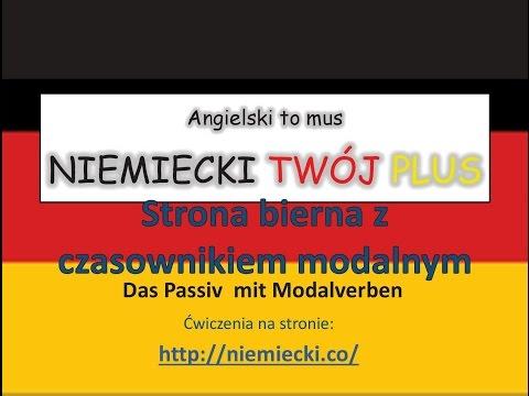 Strona bierna z czasownikami modalnymi - NIEMIECKI TWÓJ PLUS - Niemiecki gramatyka
