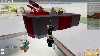 [Roblox Electric State's DarkRP] FLAMEEERLITE vs T_sai , Gabede and there other member.