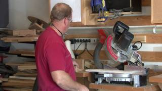 Home Maintenance & Repair Tips : Proper Use Of A Compound Miter Saw