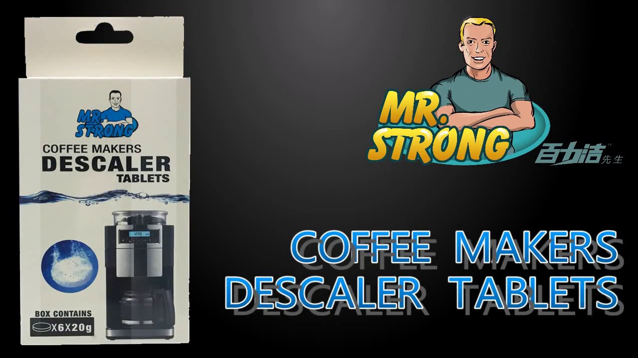 Product Showing Of Mrstrong Coffee Machine Cleaner Tablet